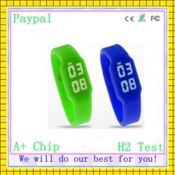 LED mais barato bracelete de Silicone Flash USB Ver (CG-670)