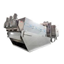 Máquina de desidratação de lamas de depuração de águas residuais para uma fácil operação da máquina