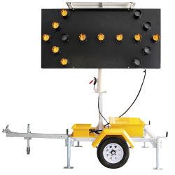 Como a energia solar4192 montado no carro de placas de seta para portáteis