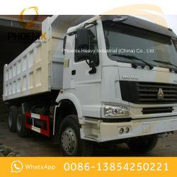 عجلات مستعملة HOWO 10 شاحنة تفريغ 336hpp tipper 6X4 بحالة جيدة جدا وسعر منخفض