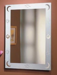 Made to Measure Double Paint und Italy Fenzi Paint Hairdressing Mirror
