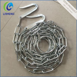 전기 직류 전기를 통한 용접된 철 동물 사슬