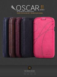 Série Kalaideng Oscar II Modèle de protection élégant étui en cuir Ultra Thin PU avec portefeuille pour Samsung Galaxy Grand Duos J9082