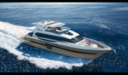Sea Stella 95FT luxuoso iate do Motor