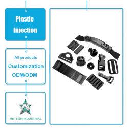 Parti di modellatura personalizzate dei punti dei bagagli dell'iniezione di plastica di plastica degli accessori