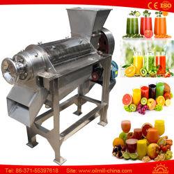 آلة معالجة عصير الفواكه من الفولاذ المقاوم للصدأ الليمون Apple Carrot Carrot