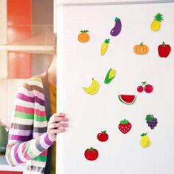 야채 냉장고 자석 과일 화이트보드 자기 스티커
