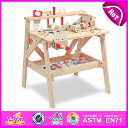 Neues Toys für Play 2015, Multifunctional Wooden Tool Toy Building Play Set, Wooden Tool Desk Toy, Wooden Assembly Tool Toy W03D041