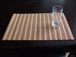 Nuevo diseño OEM Alfombra de bambú rectangular