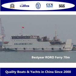 Bestyear 70m sistema Roro Aço Ferry para 430 passageiros