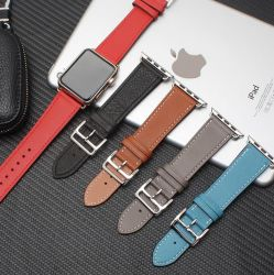 Pour Apple Iwatch 6 5 4 Se Sports en cuir de luxe je regarder les sangles de Smart bande Bracelet Remplacement de la boucle