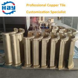 9-4-4-2 알루미늄 청동 동동 타일 맞춤형 공급업체