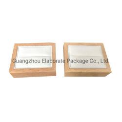 Venda por grosso de madeira pequeno anel único Exibir jóia bandeja com preço de fábrica