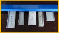Ue-förmig Metallstahlblech-Rolle, die Maschine bildet