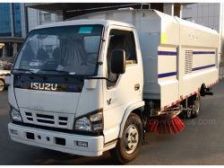 [إيسوزو] 4*2 طريق غسل وكاسحة شاحنة متحرّك تنظيف ناقلة نفط عربة مع [4كبم] ماء و [5كبم] غبار