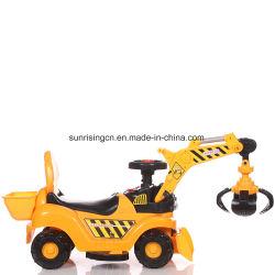 Buenas ventas alimentado por baterías eléctricas de interior y exterior de la excavadora de juguete en miniatura