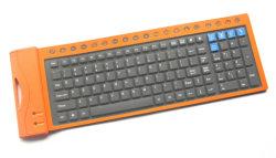 حارّ يبيع جديد تصميم سليكوون لوحة مفاتيح مرنة