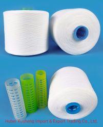 Commerce de gros de matières Blanc 100 % filés de polyester 40/2