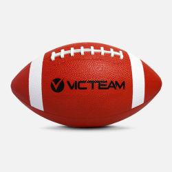 La promotion du football américain en caoutchouc personnalisé ballon de rugby
