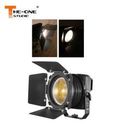 IP65 200W Studio LED Spotlight de Fresnel de pliage