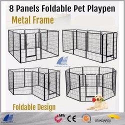 高品質の屋外の溶接された網犬の実行ペットベビーサークル犬のケージ犬の犬小屋