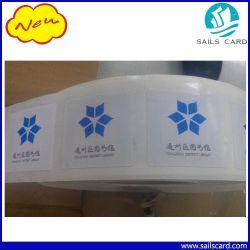 ISO/IEC15693 13,56 MHz Hf-tag met i-code Slix Chip RFID-papieren sticker voor het bijhouden van boeken