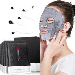 Luftblasen-Feuchtigkeits-reinigt Bambusholzkohle-Schwarz-Schablone Pore-Haut-Sorgfalt