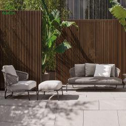 As medulas moderno Wicker Mobiliário de exterior Tecidos de mobiliário de Corda