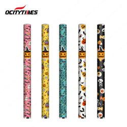 Vape personalizado Caneta descartável Ocitytimes Ó-500 Tamanho Mini Cigarro eléctrico