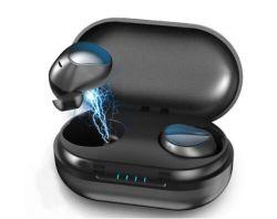 T10 Tws étanche écouteurs Bluetooth Touch Control écouteurs stéréo sans fil (avec bac de chargement sans fil 1200mAh)