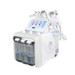 Salón de belleza Belleza cara Popular dispositivo 6 en 1 pequeña burbuja de H2O2 de cuidado de piel Facial Spa