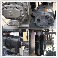 La qualité de 120HP/90kw stationnaire vis d'entraînement de courroie compresseur à air du compresseur d'air de l'Inde, air de refroidissement de la vis d'entraînement de courroie de compresseur à air