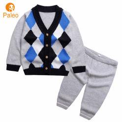 Fabricante costumbre de primavera otoño 100% algodón de los niños ropa de abrigo ajustado