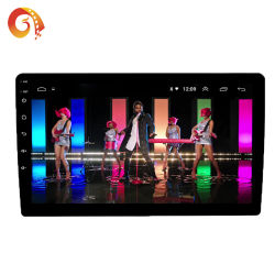 2 DIN Autoradio 9001 인조 인간 8.1/9.0 LCD 접촉 스크린 자동차 라디오 선수 자동 오디오 Bluetooth 다중 언어 지원 뒷 전망 사진기 GPS Vlc Apk DVD 플레이어