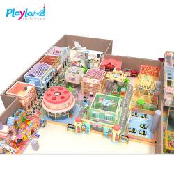 高品質は販売のためのChildrenによってプラスチック娯楽おもちゃの美しい遊ぶことの二重スライドのトンネルのおもちゃの屋内スライドをからかう