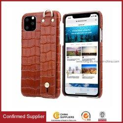 De nieuwe Gevallen van de Telefoon van het Leer van de Korrel van de Krokodil van de Aankomst Mobiele voor iPhone11