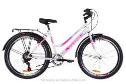 """El bastidor de acero de 26"""" Bicicleta de Montaña MTB de la ciudad de la señora de la velocidad de 6 bicicleta"""