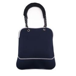 Оптовая торговля темно-синий неопреновый женщин Designer дамской сумочке