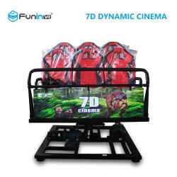 Cabina de Cinema Dinâmico quente 5D / 6D / 7D / 9d Cinema passeio de montanha-russa de Home Theater