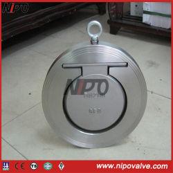 A105 type galette plaque unique du clapet antiretour de pivotement