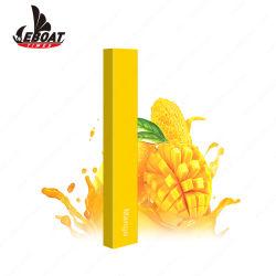 Logotipo personalizado 1.2ml de jugo de la sal de la nicotina Cigarrillo Electrónico Desechable Vape