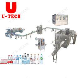 Terminer l'eau minérale pure Pet automatique de l'embouteillage gamme de machines de remplissage