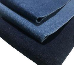 Горячие продажи хлопка полиэстер спандекс Stretch Саржа джинсовой ткани для джинсы