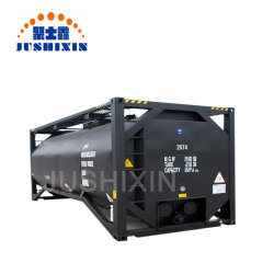 Modelo ISO 20FT 40FT Betume asfalto do tanque de armazenamento de contêiner para venda