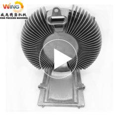 Высоким давлением литье под давлением алюминия на заводе изготовителя для клапана и насоса/корпус мотора