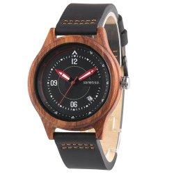 Prix du bois de haute qualité de l'Ouest Watch modifiable le cuir sangle en Nylon montres minimaliste