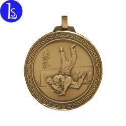 Il judo personalizzato fabbrica di Yiwu conia il distintivo della medaglia sport/delle medaglie