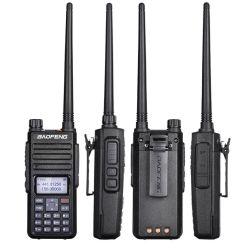 Inbegrepen Oortelefoon van de Band van Walkie-talkie DM-1801 van Baofeng de Digitale Handbediende Radio Bidirectionele 5W Dubbele