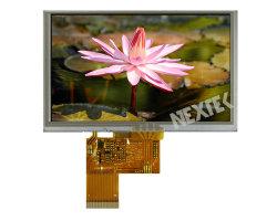 """Nextek 5.0 """" Alto brilho de 800 nits legível sob luz solar 480*854 TFT LCD"""