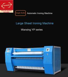 Máquina de engomar Single-Roller (o aquecimento dos cilindros) /máquina de engomar personalizáveis para o hotel/Escola